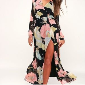 Lulu's Water Lily Maxi BNWT size small